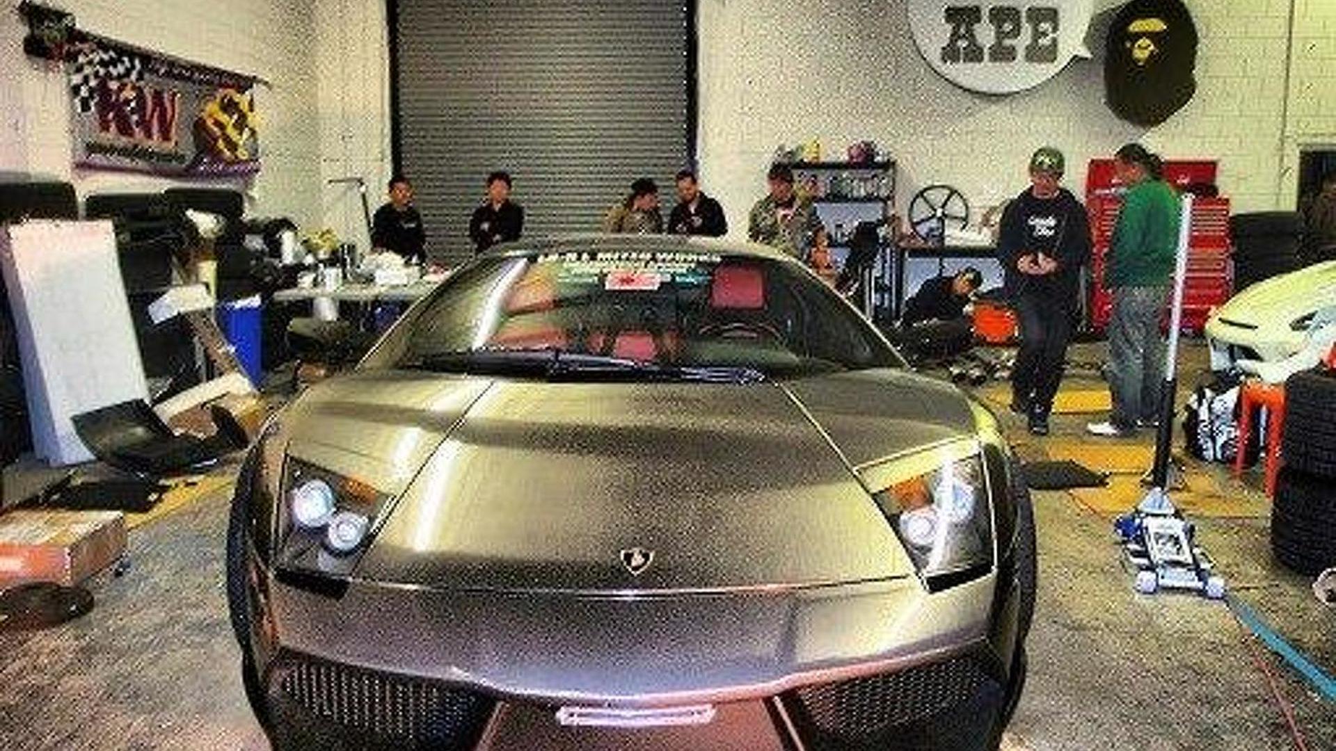 Lamborghini Murcielago With Brushed Aluminum Wide Body Kit Motor1