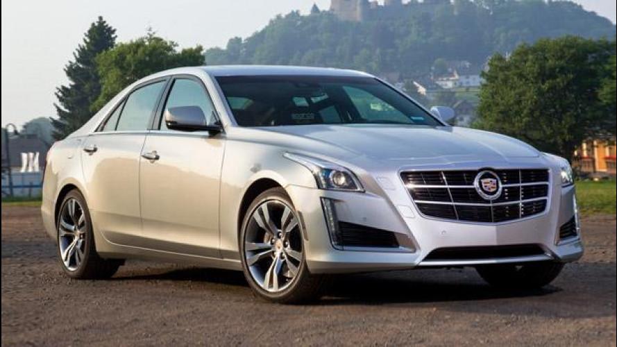 Nuova Cadillac CTS berlina, i prezzi