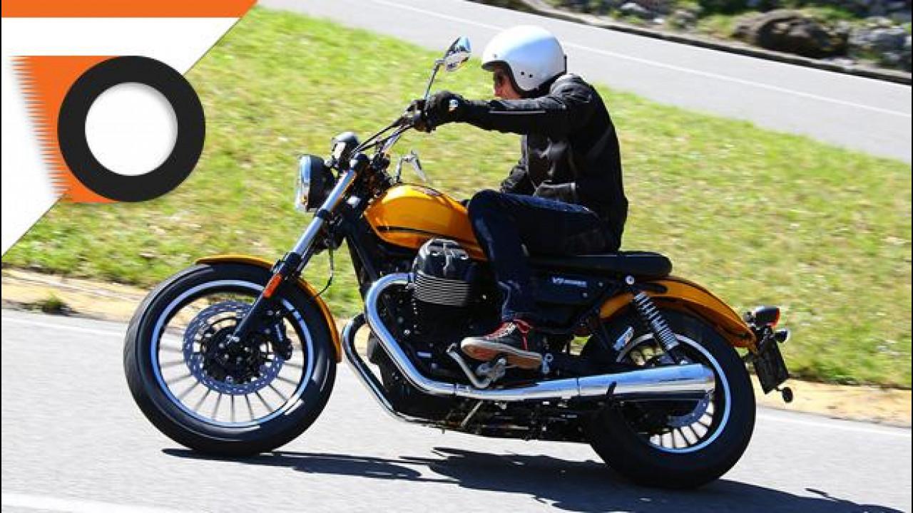 [Copertina] - Guzzi V9 è la moto della settimana su OmniMoto.it