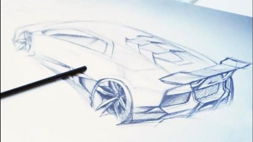 Lamborghini Cabrera, i primi indizi in un video