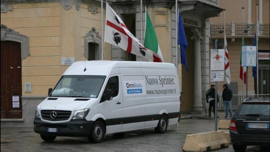 Il viaggio di OmniAuto.it e OmniFurgone.it per aiutare la Sardegna