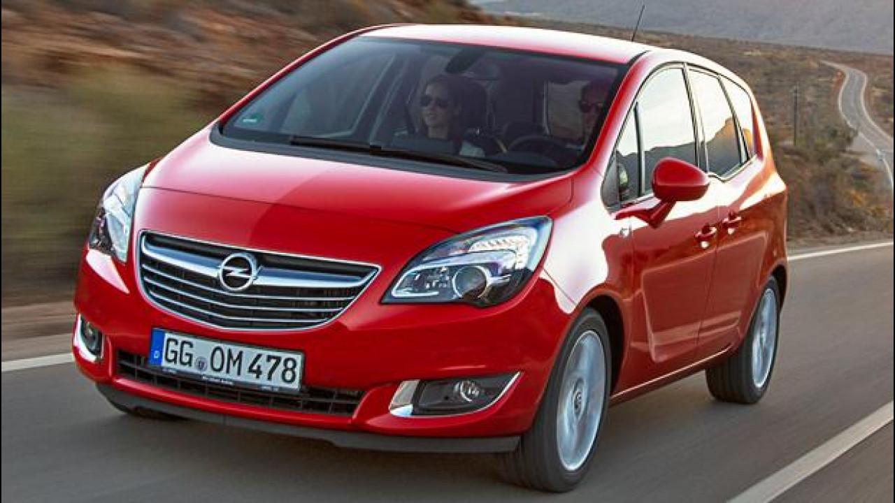 [Copertina] - Opel Meriva, è sempre flex ma è più efficiente