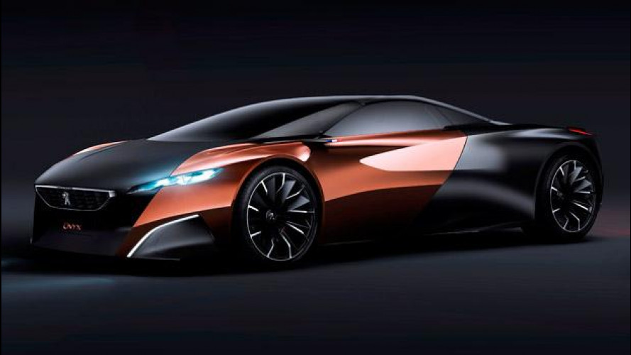 Peugeot Onyx, da coupé a 4 posti