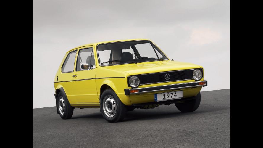 Volkswagen Golf, 40 anni portati bene