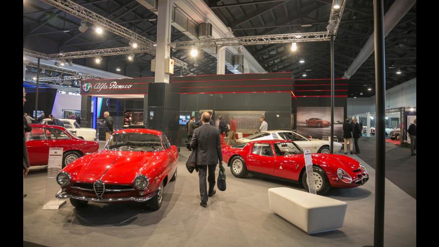 Alfa Romeo ad Auto e Moto d'Epoca, è tempo di Giulia Quadrifoglio [VIDEO]