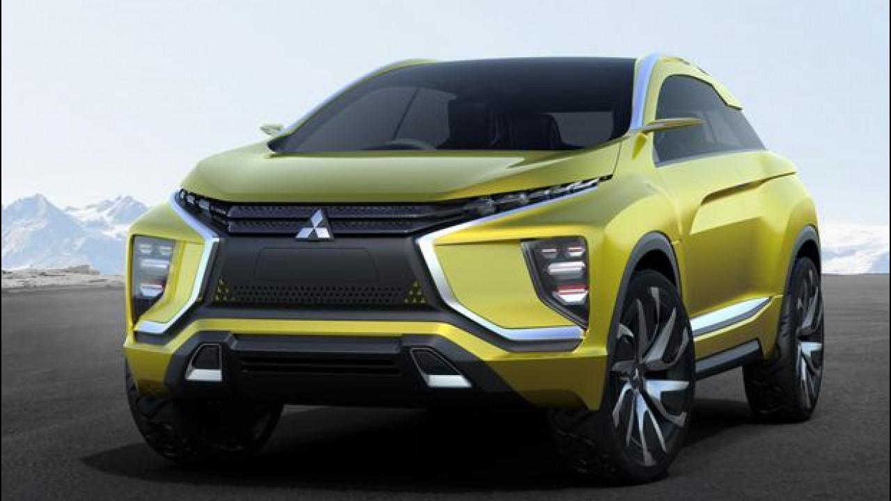 [Copertina] - Mitsubishi eX Concept, crossover elettrico