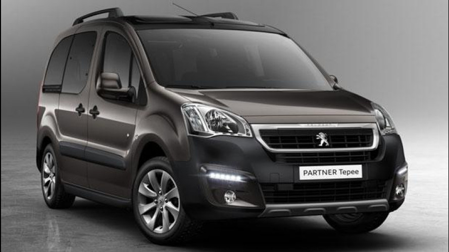 Peugeot Partner Tepee restyling, Euro 6 e più connesso