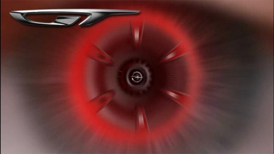 Opel GT Concept, logo e primo teaser