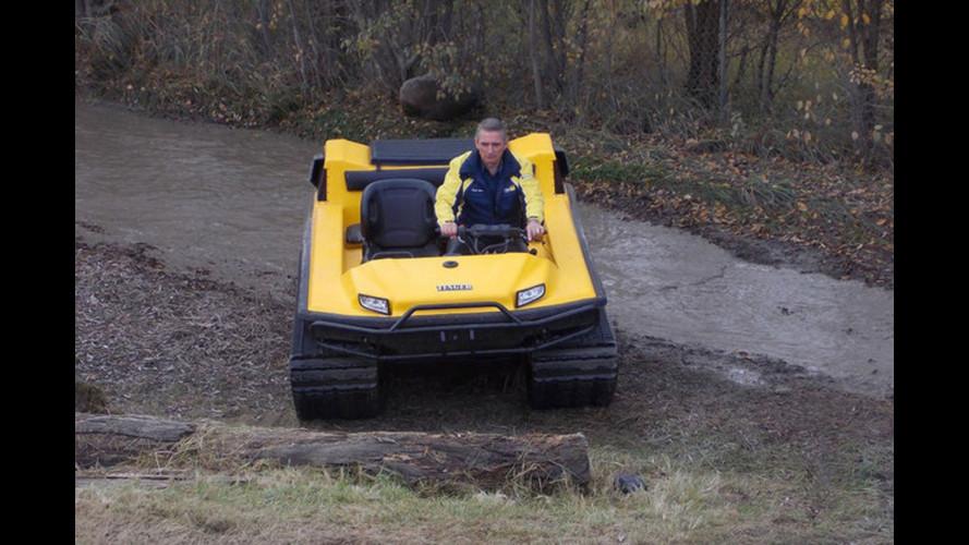 Tinger Track ATV, il mini cingolato russo pronto a tutto
