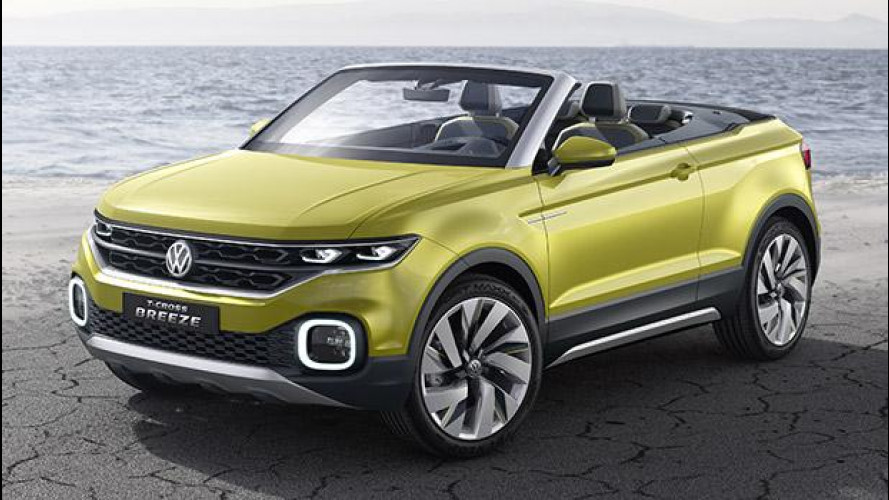Volkswagen T-Cross Breeze, piccolo e cabriolet [VIDEO]