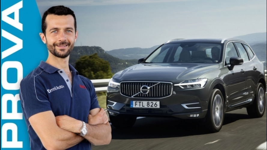 Volvo XC60, a tutto comfort e sicurezza [VIDEO]