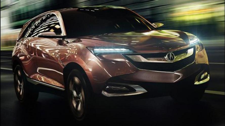 Anche Acura, marchio di lusso Honda, si da ai SUV compatti
