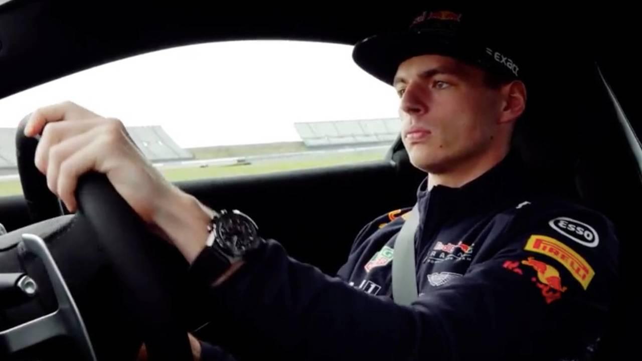Verstappen meets Vantage