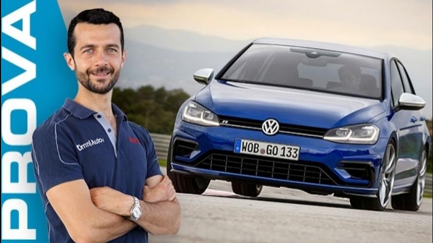 Volkswagen Golf R, la prova della più potente e 4x4 [VIDEO]