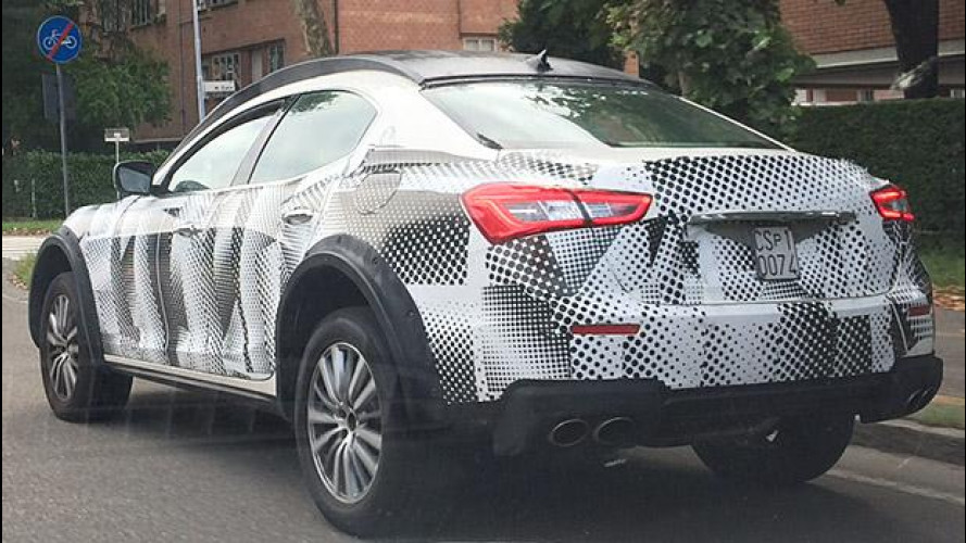 Maserati Levante, nuovi prototipi su strada