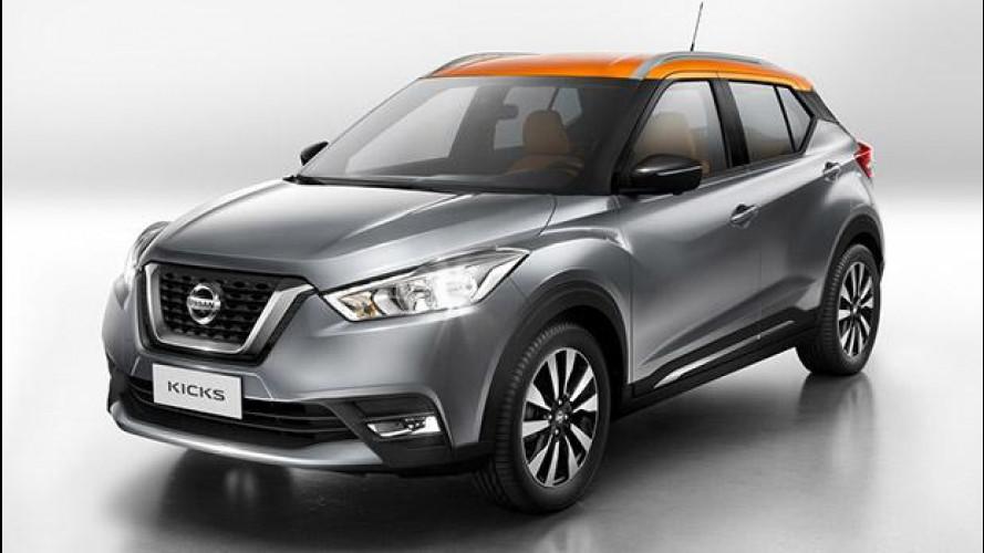 Nissan Kicks, il crossover globale