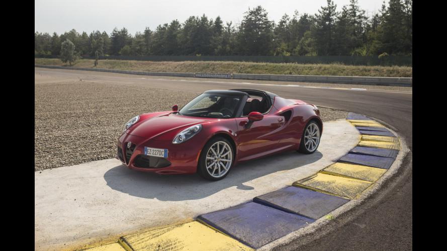 Alfa Romeo 4C Spider,  nessuna si guida come lei [VIDEO]