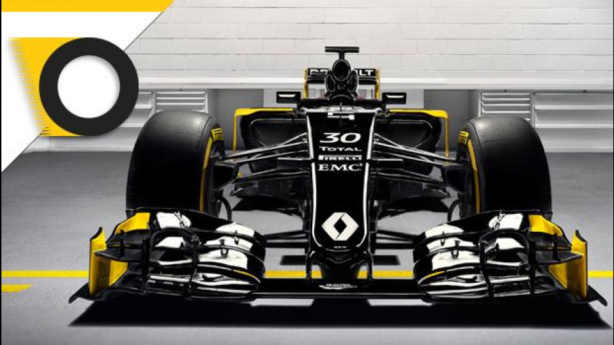 Formula 1, Renault torna in abito scuro