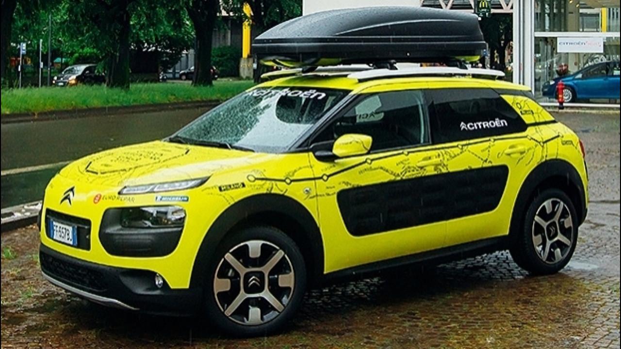 [Copertina] - Citroën C4 Cactus, da Milano alla Cina in 40 giorni