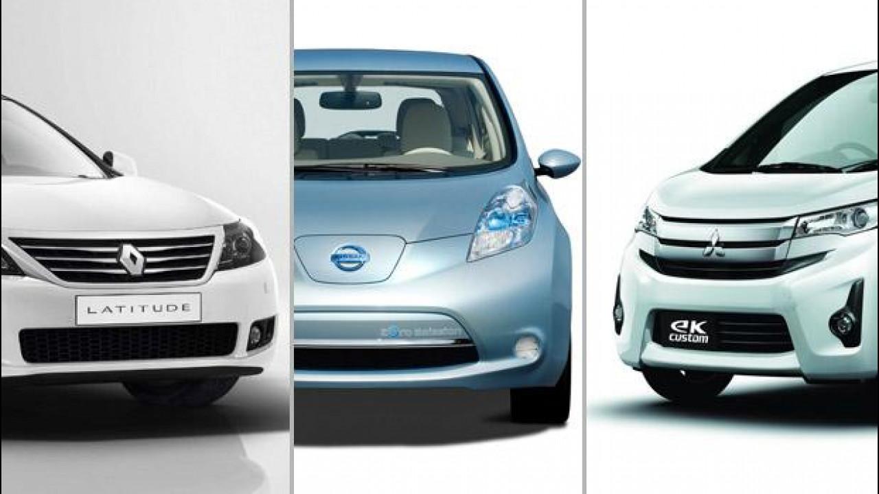 [Copertina] - Renault-Nissan e Mitsubishi, insieme per nuovi progetti