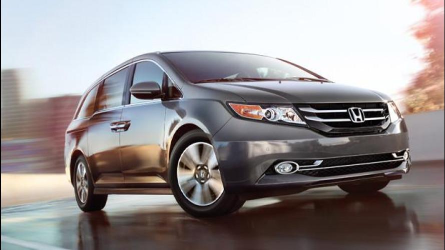 Nuova Honda Odyssey