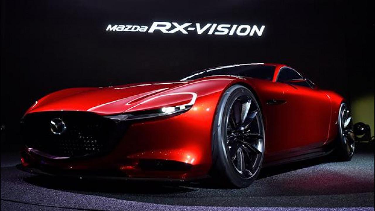 [Copertina] - Mazda RX-Vision, il rotativo si prepara al gran ritorno