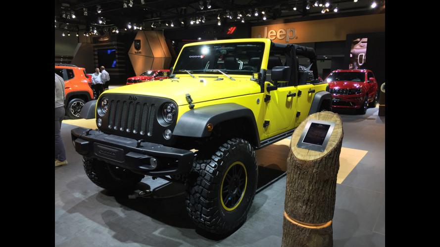 Jeep, vesti speciali per le sue best-seller al Salone di Dubai