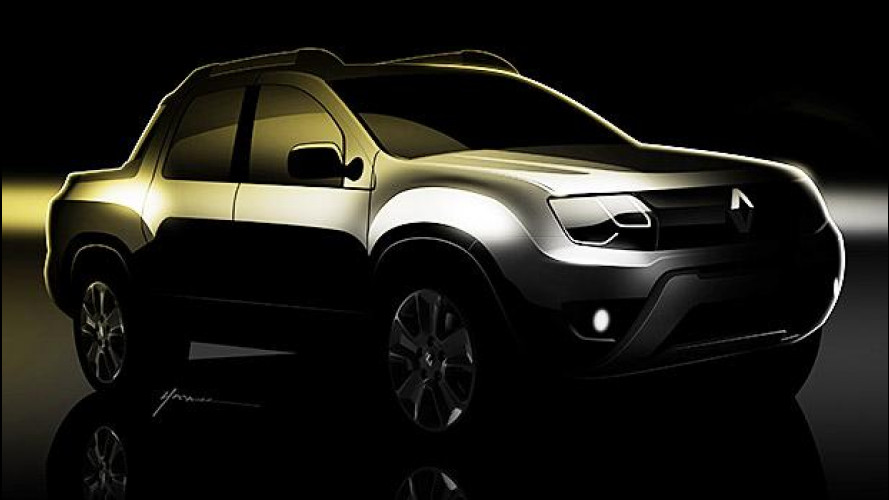 Renault pick-up, su base Duster