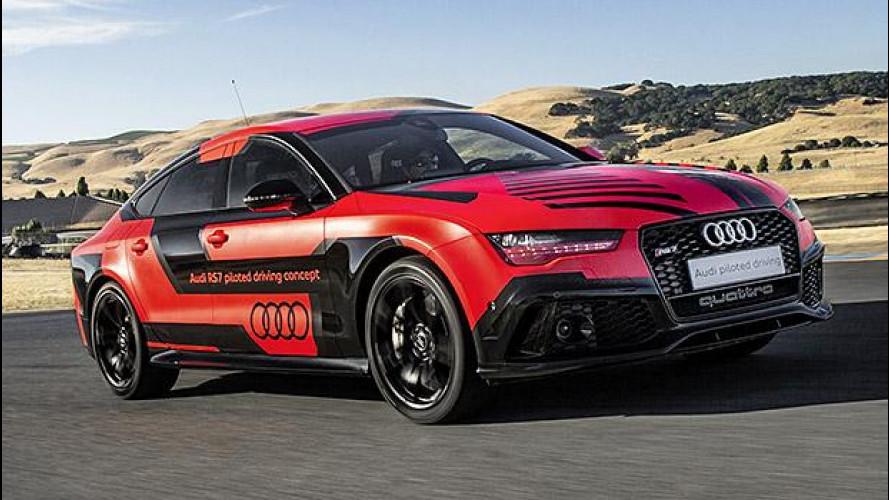Audi RS 7, più veloce anche senza pilota