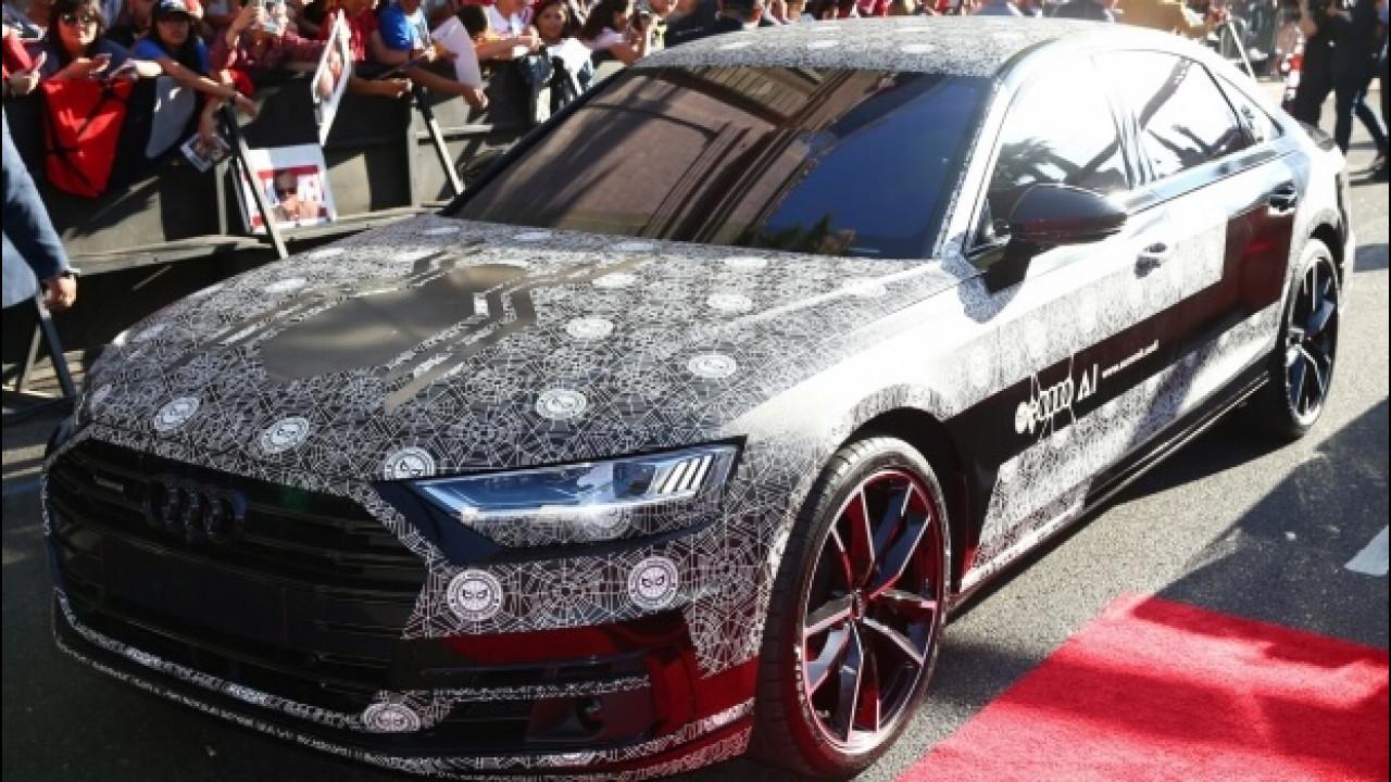 [Copertina] - Nuova Audi A8, eccola sul red carpet di Spiderman: Homecoming