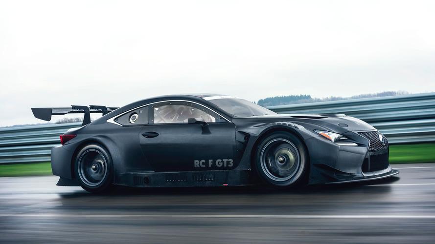 La nouvelle Lexus RC F GT3 sera présentée à Genève