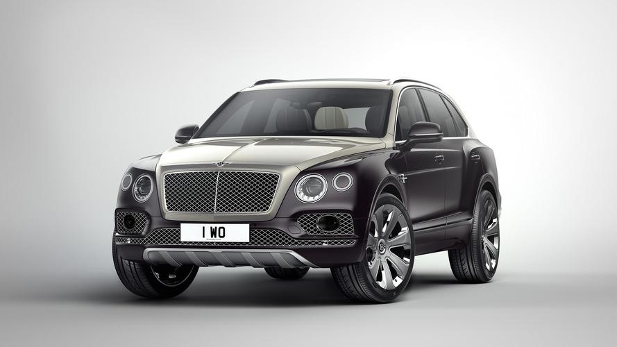 Bentley Bentayga'ya Mulliner paketi