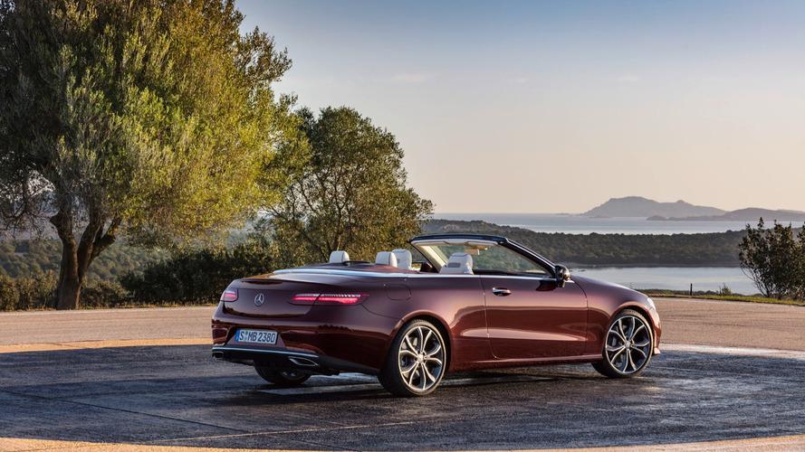 2018 Mercedes E-Serisi Cabriolet: 329 bg ve limitsiz güneş ışığı