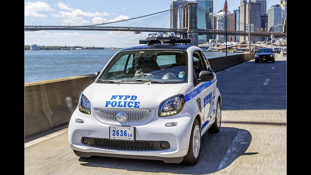 Smart Fortwo Polizei