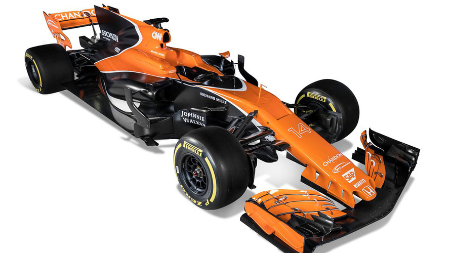 McLaren reveals its 2017 F1 race car