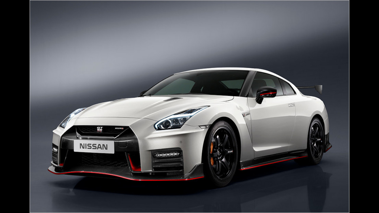 Platz 1: Der Nissan GT-R Nismo mit 600 PS