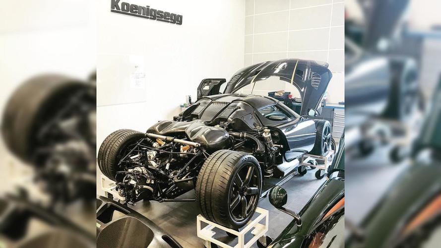 Kazalı Koenigsegg Agera RS Gryphon tamamen kurtarıldı