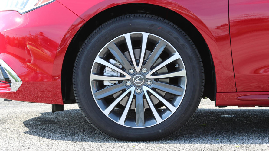 Acura TLX First Drive The Outlier Choice Gets Better - 2018 acura tl 19 inch wheels