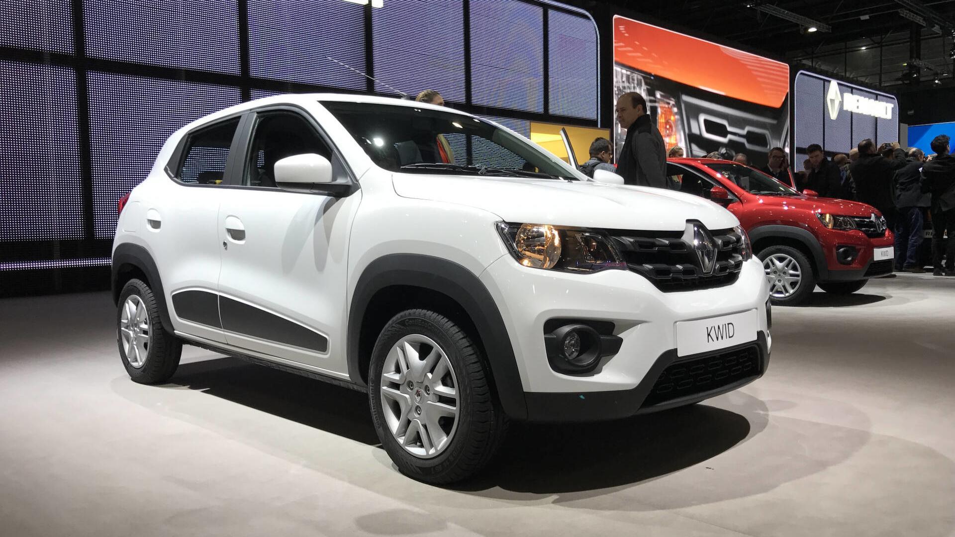 Renault Kwid Chega Com Preços Entre R 29990 E R 39990