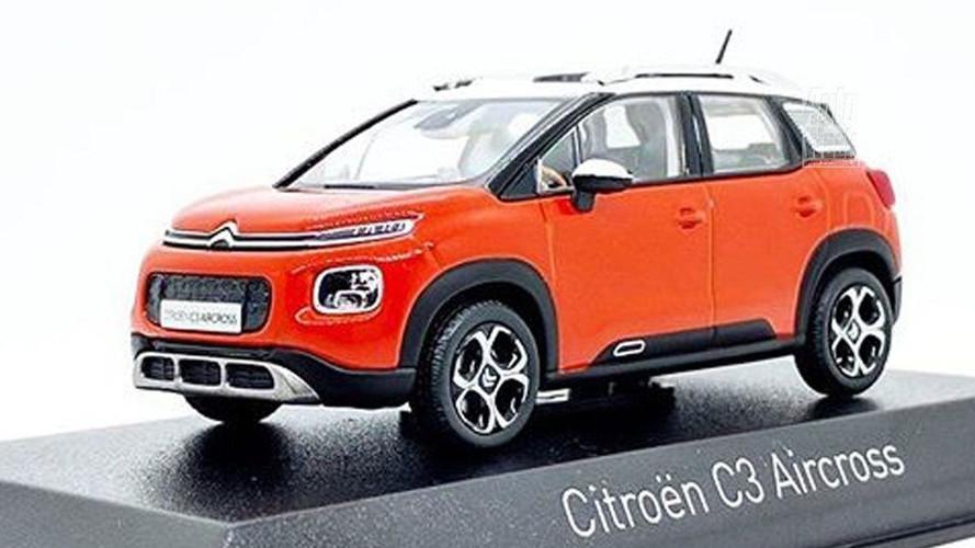 Citroën C3 Aircross 2018 sem camuflagem