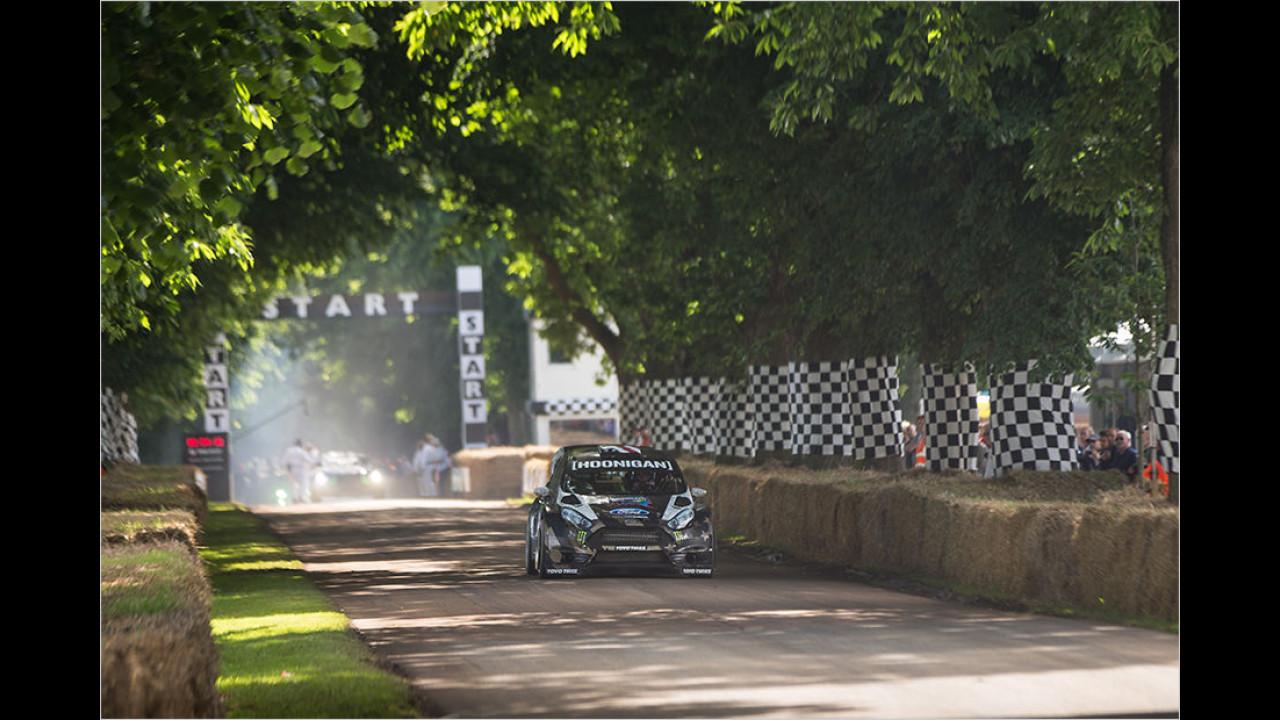 Ken Block über das Auto, das er beim diesjährigen Festival of Speed fährt …