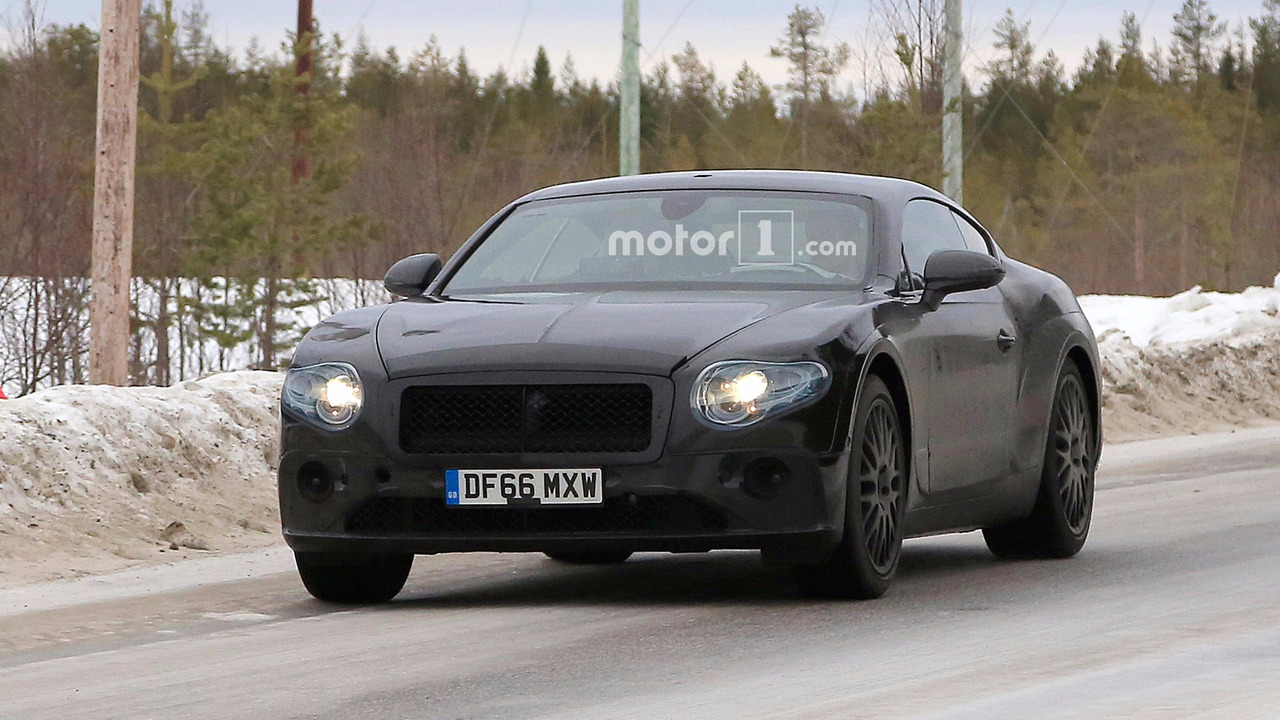 Bentley Continental GT casus fotoğrafları