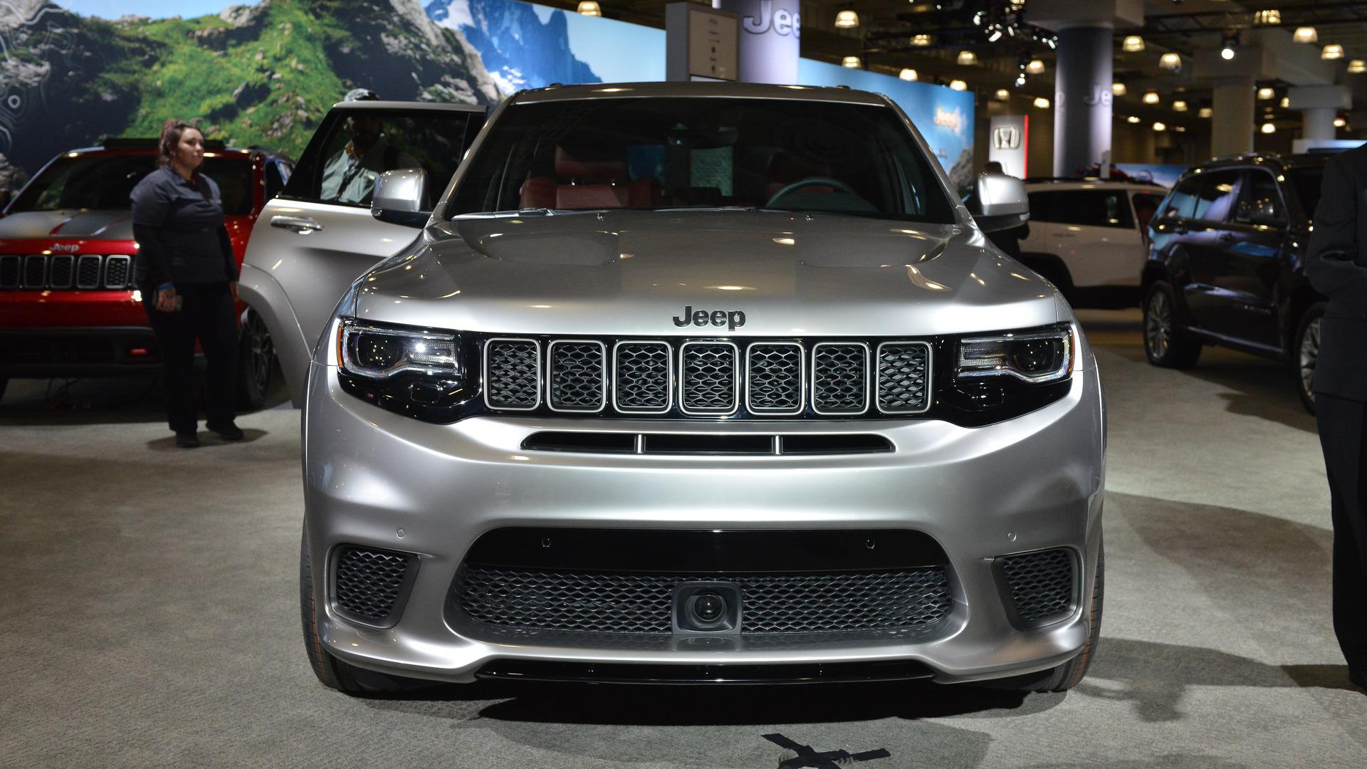 Jeep Grand Cherokee Trackhawk Makes 4-Wheel Dyno Run At Debut