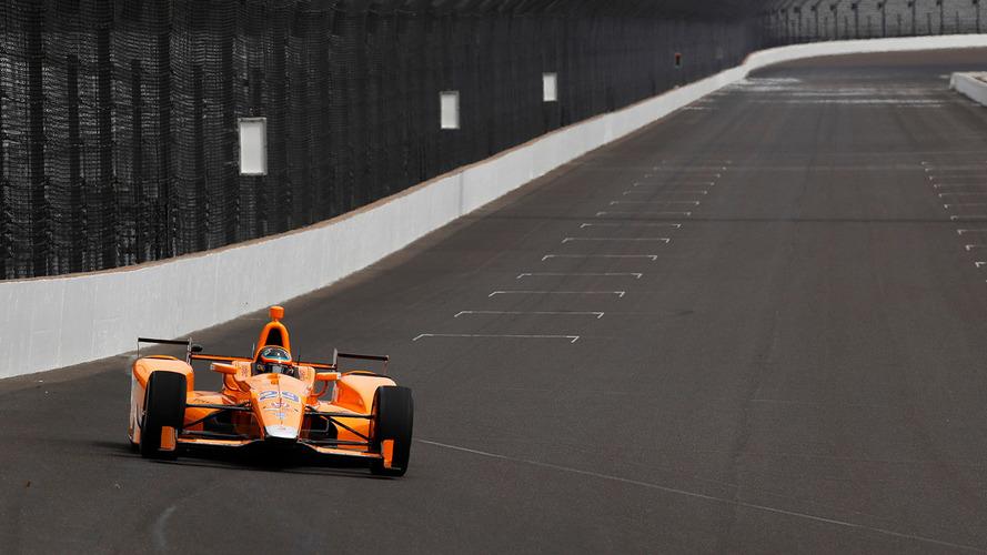 Fernando Alonso's Indy 500 car