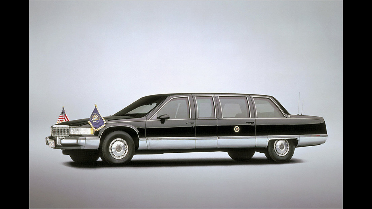 Bill Clinton: Cadillac Fleetwood (1993)