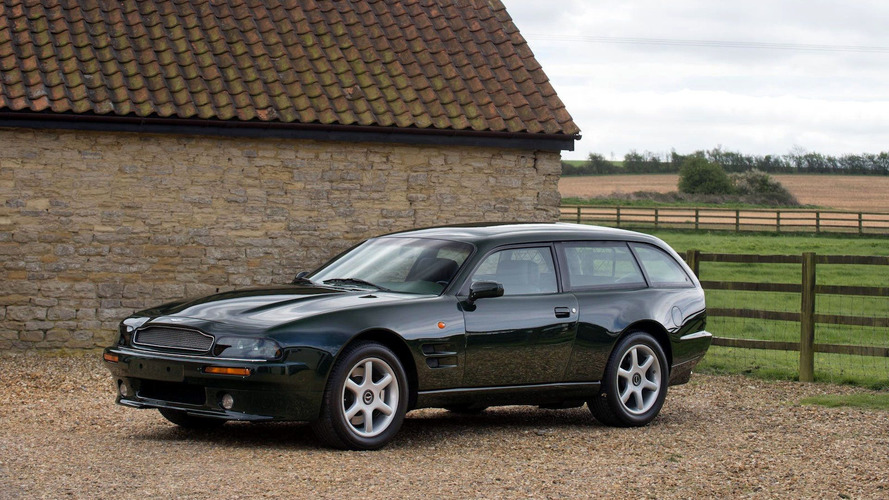 Rare 1996 Aston Martin V8 Estate Is Practically Perfect
