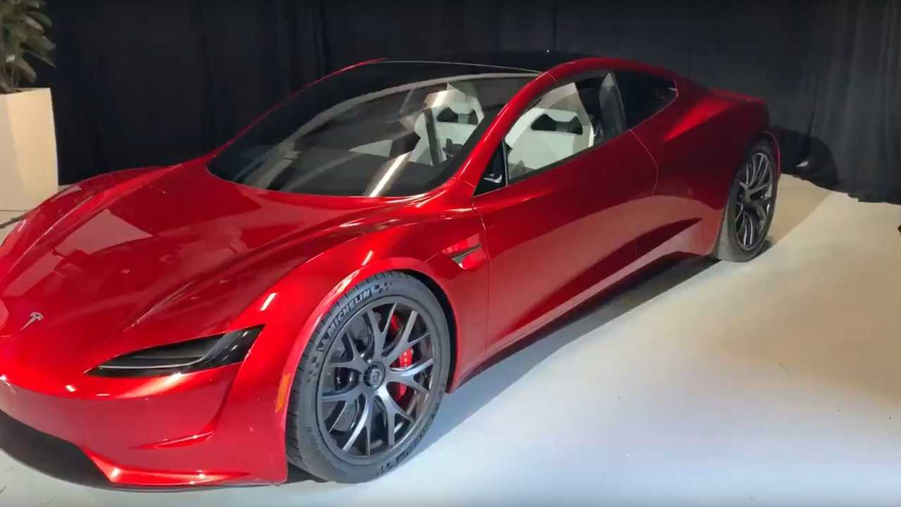 2 Door Charger >> See New Video Of The Tesla Roadster