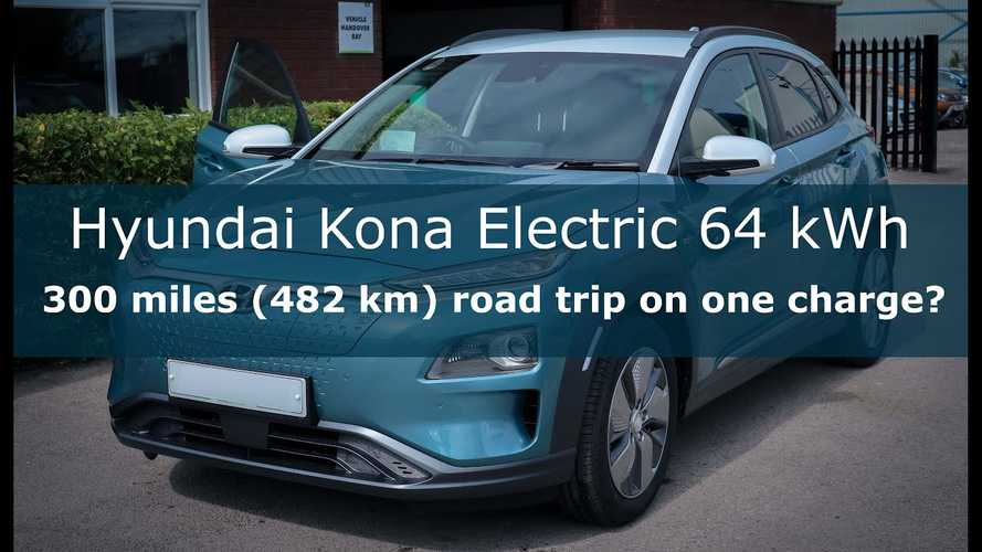 Hyundai Kona Electric Road Trip Range Test: Can It Go Over 300 Miles?