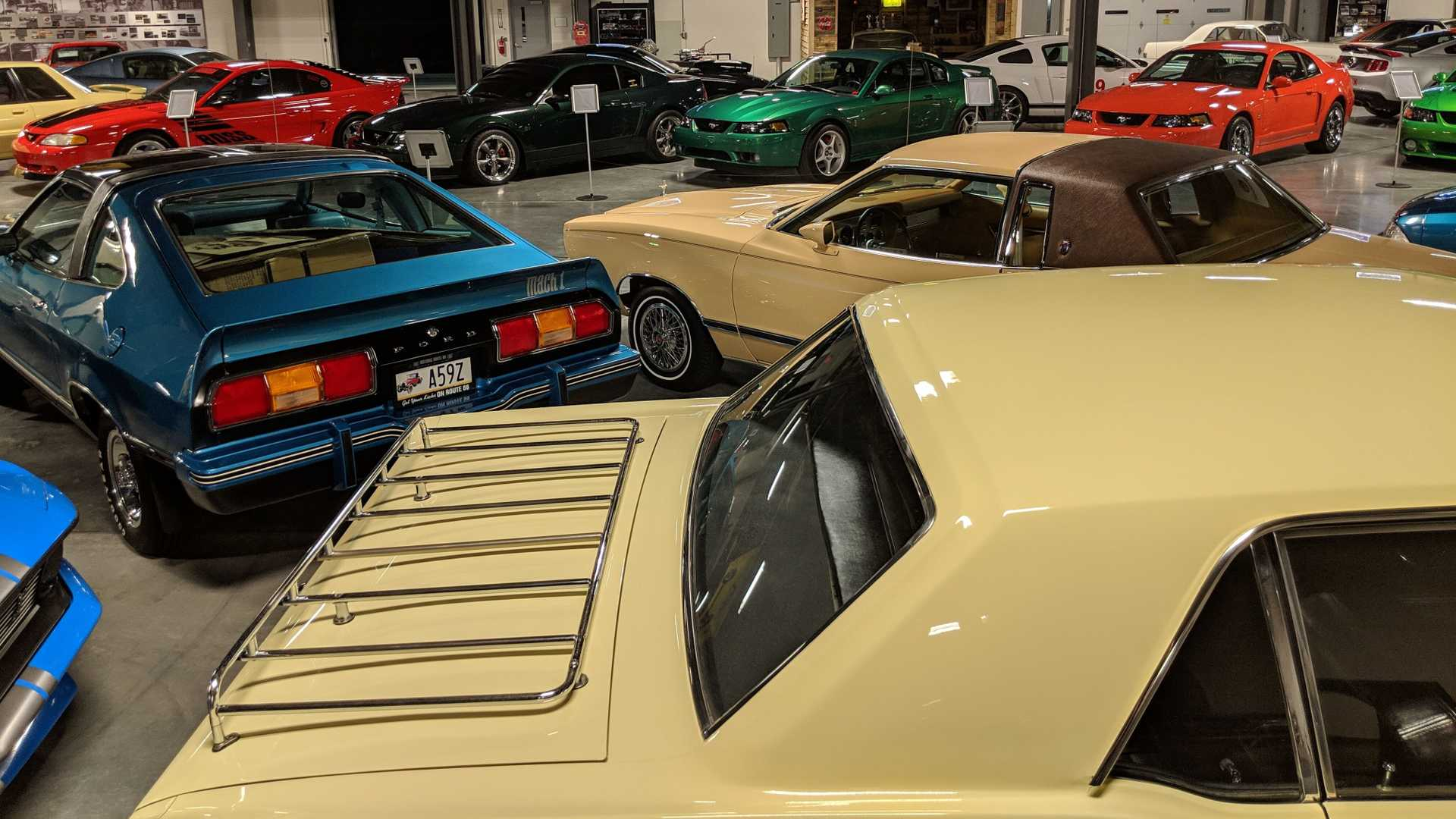 """[""""Mustang Owners Museum Grand Opening""""]"""