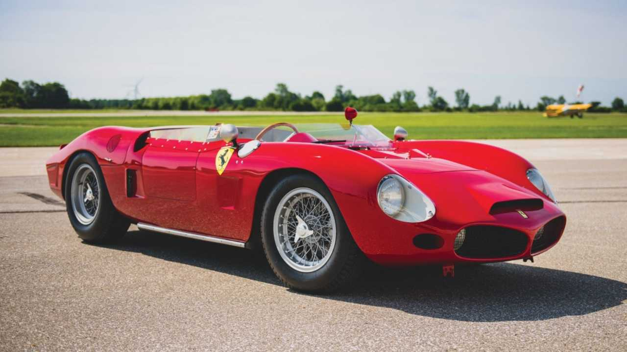 1962 Ferrari 196 SP By Fantuzzi